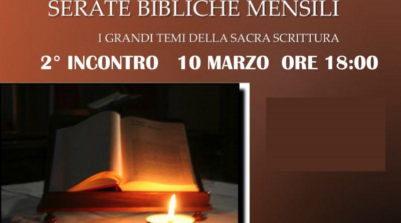 SERATE BIBLICHE MENSILI MARZO 2019