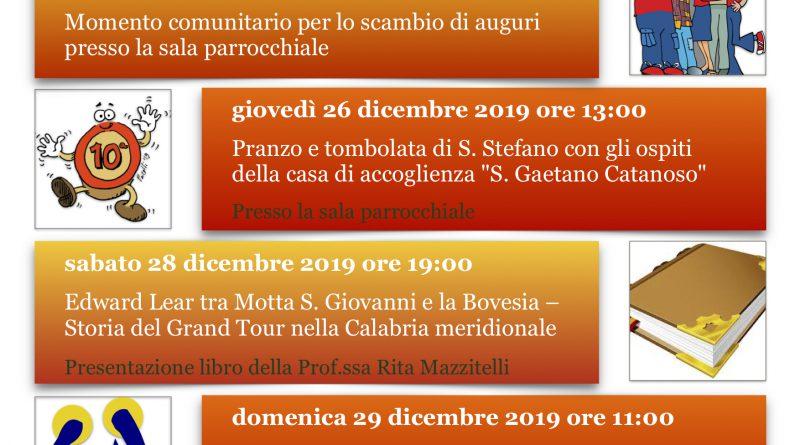 Natale 2019 Parrocchia Bocale